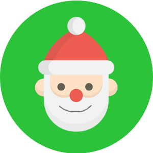 santa's grotto icon